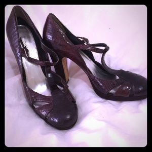 Calvin Klein Mary Jane heels SZ 8 but not marked